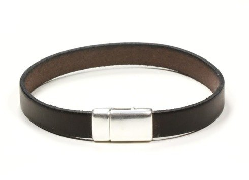 CHOCOLATE Leather bracelet