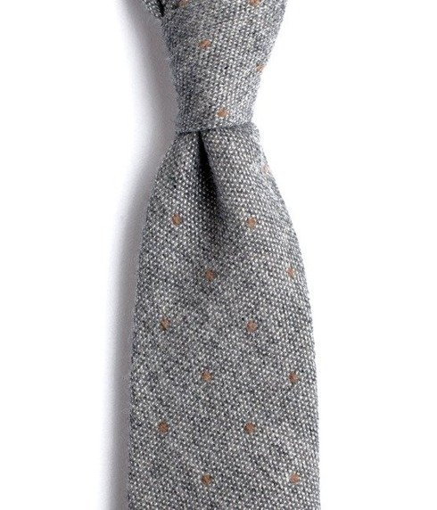 UNTIPPED CASHMERE light grey TIE