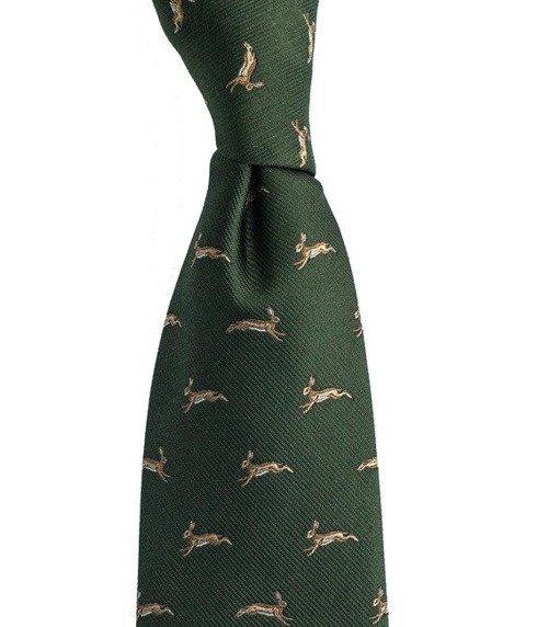 silk tie hare