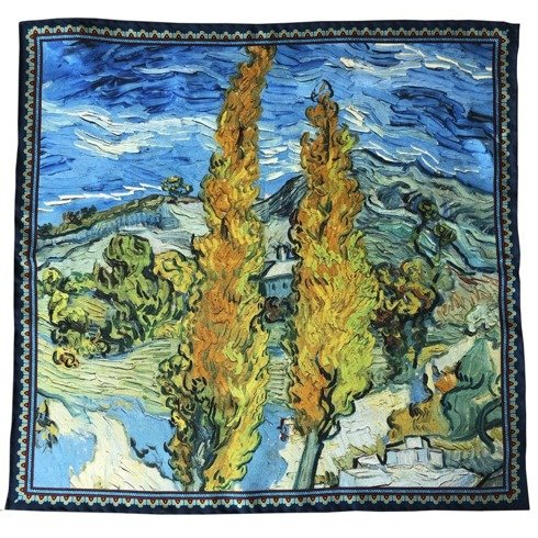Artworks collection 'Two Poplars in the Alpilles near Saint-Rémy' Van Gogh