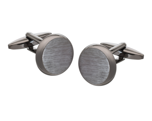 Brushed Metal Cufflinks