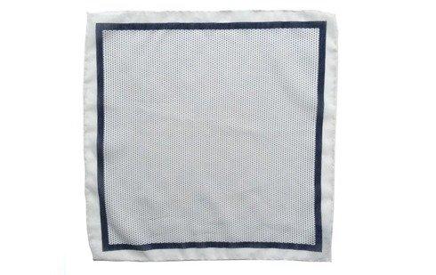 Cotton-Silk Polka Dots Pocket Square
