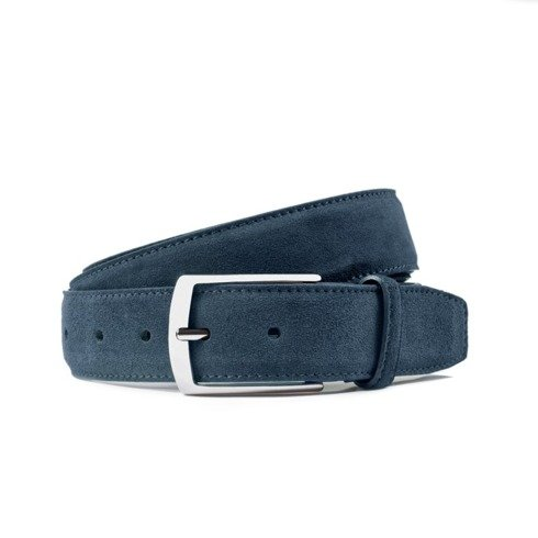 Jeans suede leather belt