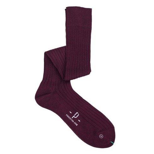 Knee socks Burgundy