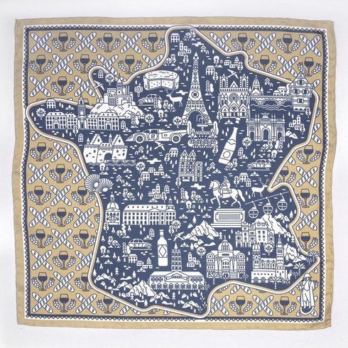 LA FRANCE slk scarf 45 cm