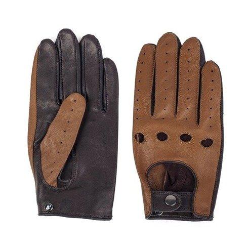 Lambskin driver's gloves