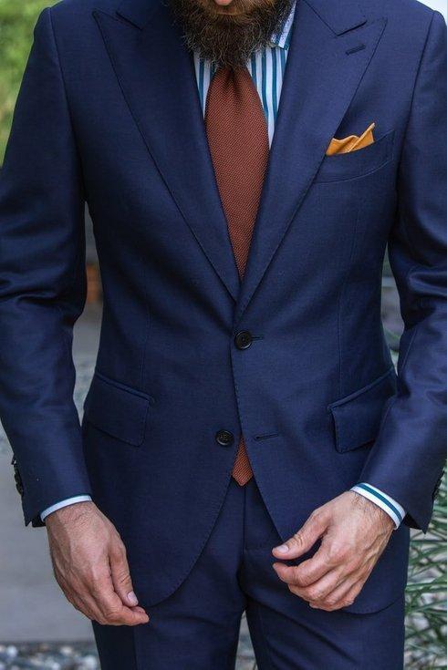 Preorder Navy suit 'John'