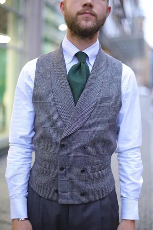 "Preorder: grey waistcoat ""Edward"""