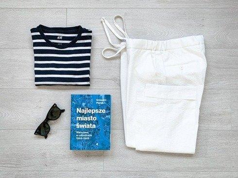 Preorder: jogger seersucker trousers