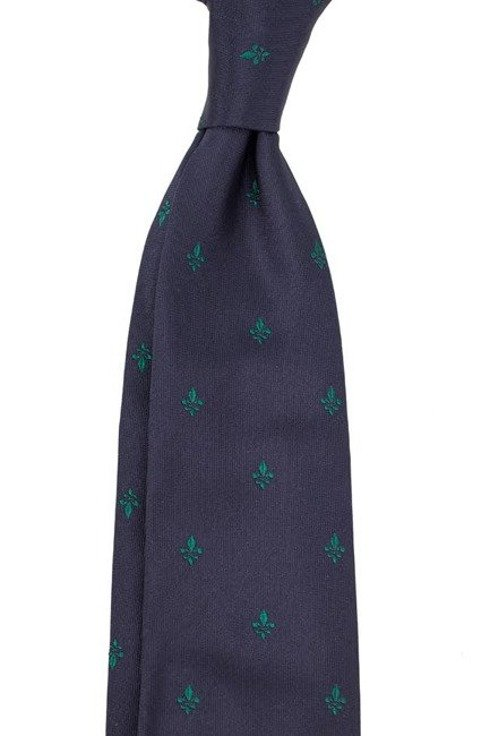 SIX FOLD TIE with Scout Emblem