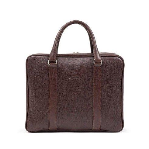 Sartolane Double Chamber Daily Bag - Brown