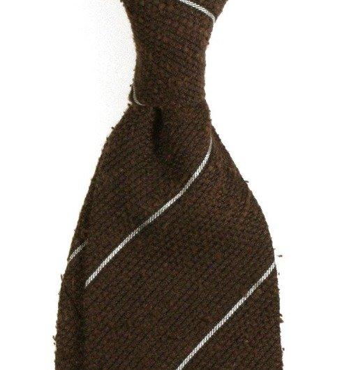 Shantung grenadine untipped tie