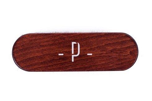 Shoe brush mahogany color