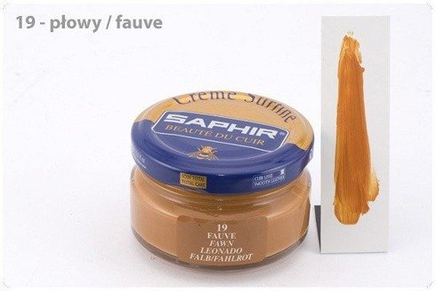 Shoe cream 50ml / fawn