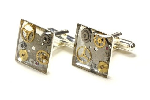 Steam punk cufflinks