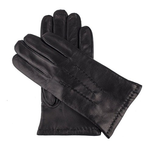 black lambskin gloves cashmere lining