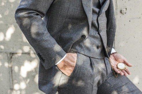 "double-breasted waistcoat ""Edward"""