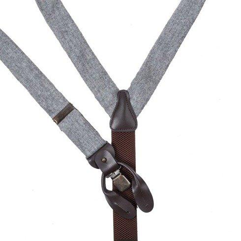 flannel grey BRACES