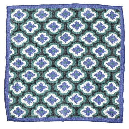 geometric pocket square