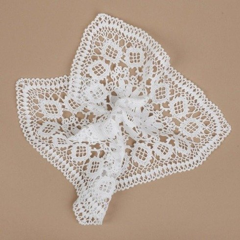 lace pocket square