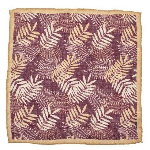 leaves pocket square