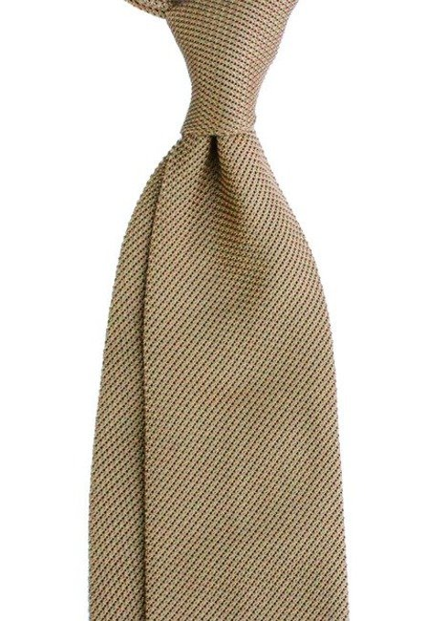 light gold  grenadine tie (garza fina)