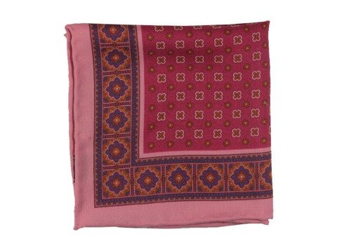 madder wool pocket square