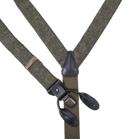olive tweed BRACES
