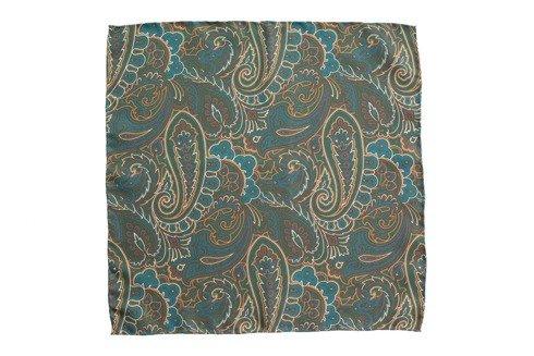 pocket square paisley 40 cm x 40 cm