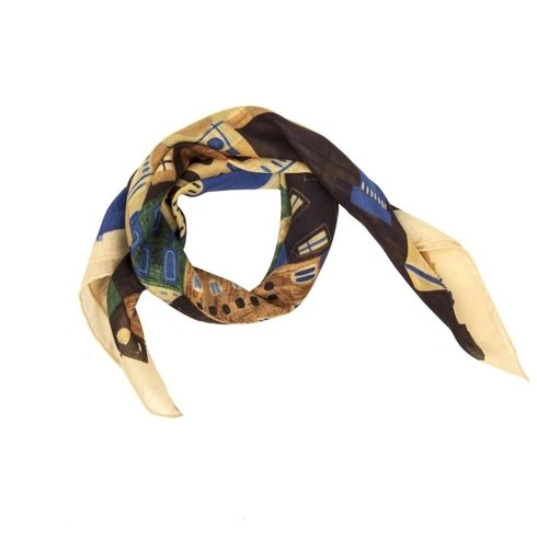 """Florence"" Wool and Silk scarf 65 cm"