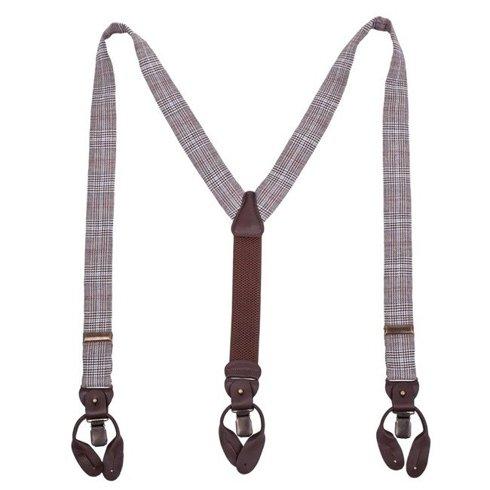 Linen/Woolen BRACES 3,5 CM CLIPS & BUTTONS