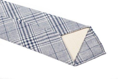 Linen untipped PoW tie