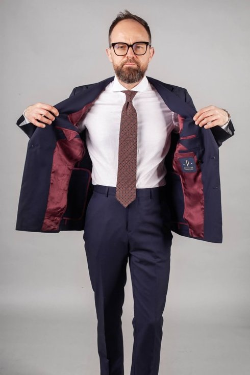 """Preorder: double breasted """"Clark"""" suit"""