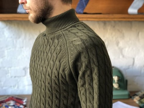 Preorder: turtleneck 100% merino wool