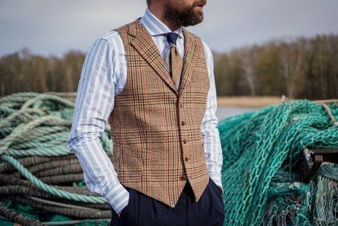 Preorder: wool waistcoat