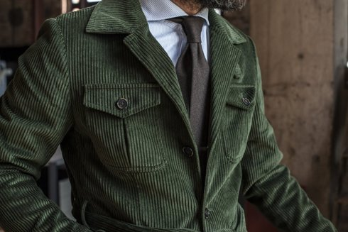 Safari corduroy jacket 'Roger'