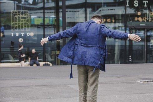 Safari linen jacket