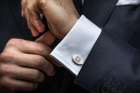 Silver Cuff Links Zodiac
