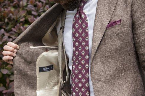 Wool-linen sport jacket 'GARDA'
