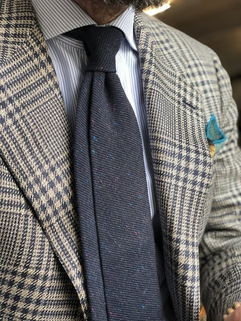 donegal navy TIE