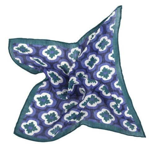 geometric pocket square