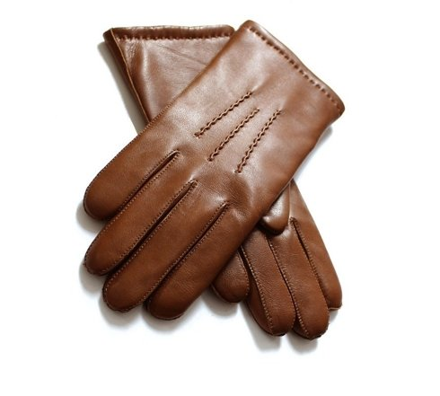 lambskin gloves with wool lining