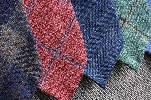 linen & wool portofino tie