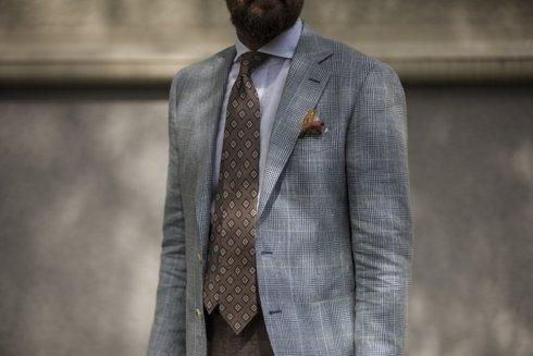 wool-linen sport jacket 'Marlon'