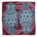 pocket square owl