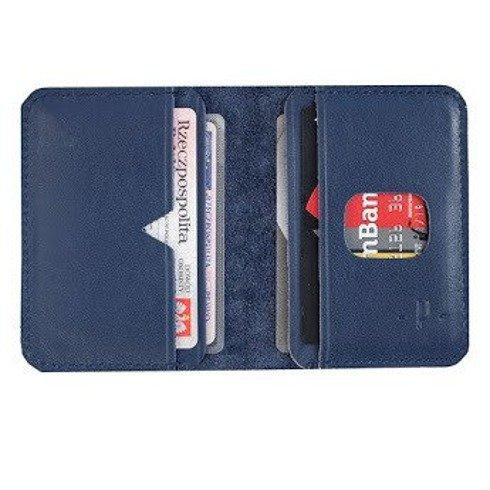 Granatowy portfel