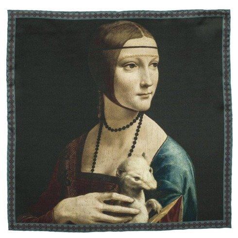 "Obrazy mistrzów ""Dama z gronostajem"" Leonardo da Vinci"