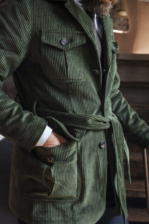 "Preorder: Safari jacket sztruks ""Artur"""