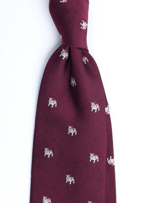 krawat w buldogi