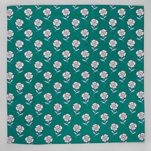 kwiecista poszetka z bawełny japońskiej